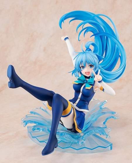Aqua Sneaker Bunko 30th Anniversary Version (Kono Subarashii Sekai ni Shukufuku o!) PVC-Statue 1/7 19cm Kadokawa