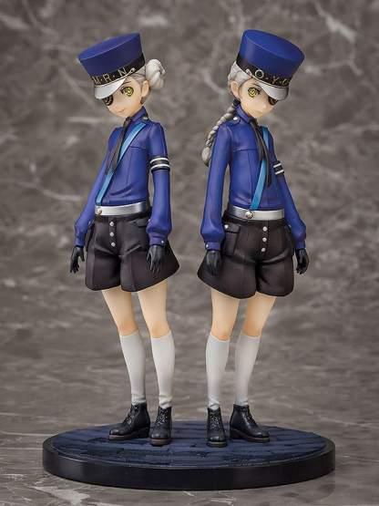 Caroline & Justine (Persona 5) PVC-Statue 14cm Aqua Marine