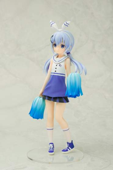 Chino Cheerleader Version (Is the Order a Rabbit?) PVC-Statue 22cm Chara-Ani