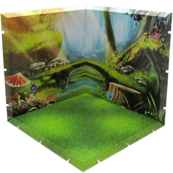 Forest Dioramansion 150 Zubehör-Set für Nendoroid und Figma Actionfiguren von PLM