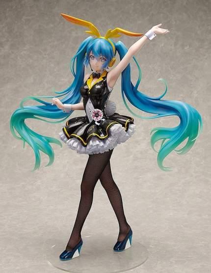 Hatsune Miku My Dear Bunny Version (Hatsune Miku Project DIVA Arcade) PVC-Statue 1/4 46cm FREEing