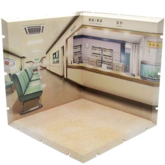 Hospital Dioramansion 150 Zubehör-Set für Nendoroid und Figma Actionfiguren von PLM
