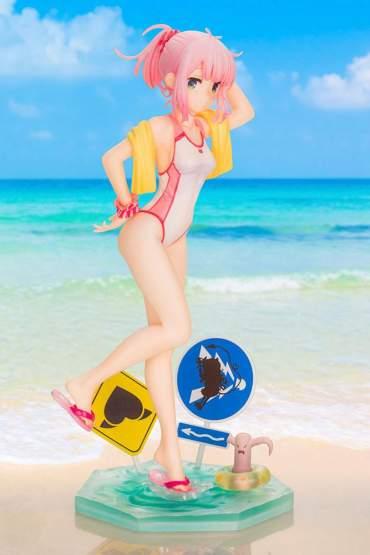 Momo Chiyoda Swimsuit Version Bonus Edition (The Demon Girl Next Door) PVC-Statue 1/7 22cm Kotobukiya