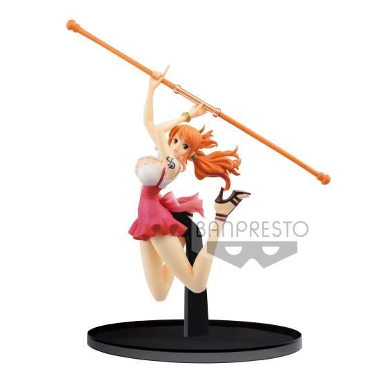 Nami Normal Color Version (One Piece) BWFC PVC-Statue 13cm Banpresto