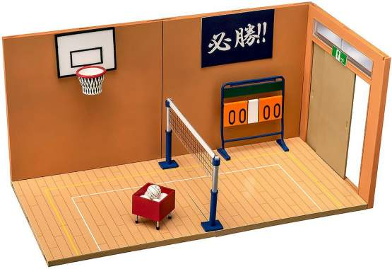 Nendoroid Playset 07: Gymnasium A Set - Nendoroid More Zubehör-Set von Phat