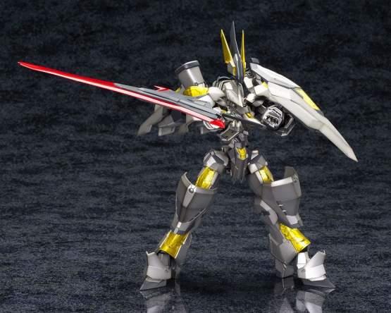 NSG-Z0/K Durga II:RE2 - Frame Arms Plastic Model Kit 1/100 19cm Kotobukiya