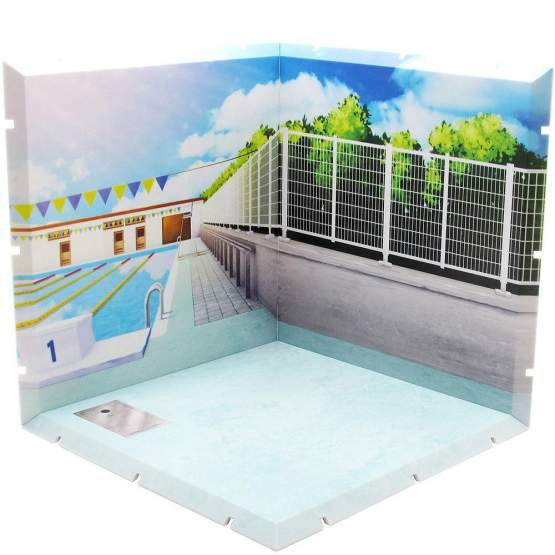 Poolside Dioramansion 150 Zubehör-Set für Nendoroid und Figma Actionfiguren von PLM