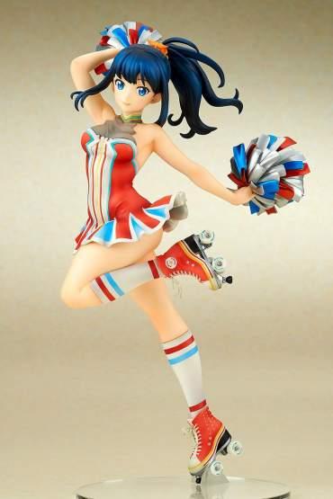Rikka Takarada Cheer Girl Version (SSSS.Gridman) PVC-Statue 1/7 24cm Ques Q
