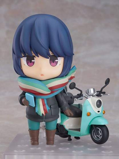 Rin Shima Touring Version (Laid-Back Camp) Nendoroid 1451 Actionfigur 10cm Good Smile Company