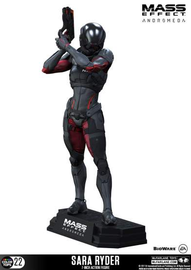 Sara Ryder (Mass Effect Andromeda) Color Tops PVC-Statue 18cm McFarlane Toys