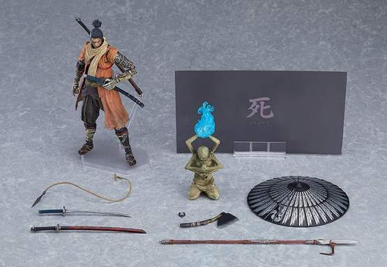 Sekiro DX Edition (Sekiro: Shadows Die Twice) Figma 483-DX Actionfigur 16cm Max Factory