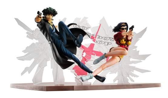 Spike Spiegel & Faye Valentine 1st GIG (Cowboy Bebop) PVC-Statuen-Set 1/8 20cm Megahouse