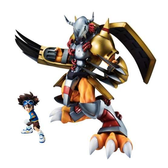 Wargreymon & Tai (Digimon Adventure) G.E.M. PVC-Statue 25cm Megahouse -NEUAUFLAGE-