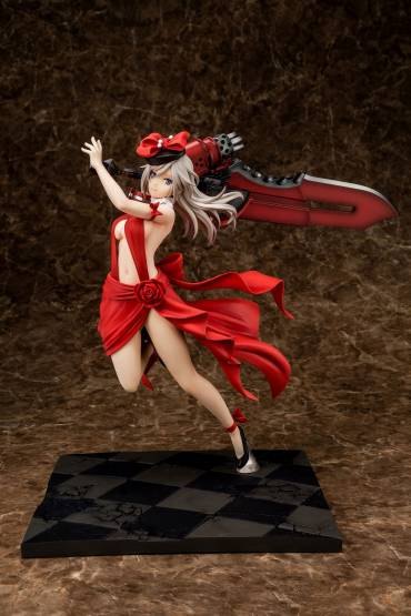 Alisa Ilyinichna Omela Crimson Anniversary Dress Version (God Eater) PVC-Statue 1/7 30cm Sol International