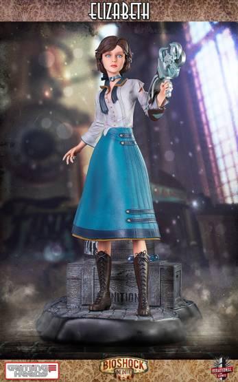 Elizabeth (BioShock Infinite) Resin-Statue 46cm Gaming Heads