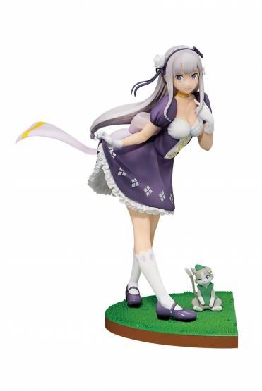 Emilia (Re:ZERO Starting Life in Another World) Ichibansho PVC-Statue 19cm Bandai