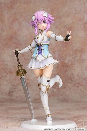 Holy Knight Neptunia (Cyberdimension Neptunia 4 Goddesses Online) PVC-Statue 1/7 22cm Pulchra