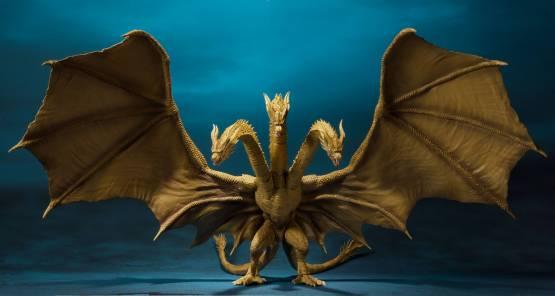 King Ghidorah (Godzilla: King of Monsters 2019) S.H. MonsterArts-Actionfigur 25cm Bandai Tamashii Nations