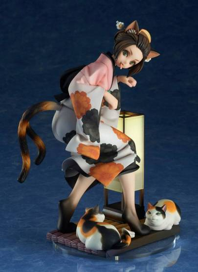 Nekomata Okoi (Muramasa The Demon Blade) PVC-Statue 1/8 17cm Alter