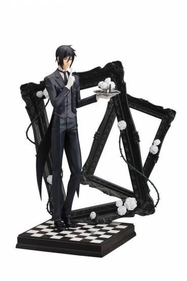 Sebastian Michaelis (Black Butler Book of Circus) ARTFXJ PVC-Statue 1/8 25cm Kotobukiya -NEUAUFLAGE-