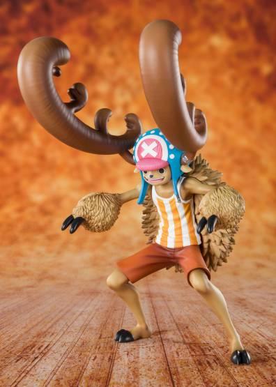 Zuckerwatten-Liebhaber Chopper Horn Point Version (One Piece) FiguartsZERO PVC-Statue 13cm Bandai Tamashii Nations