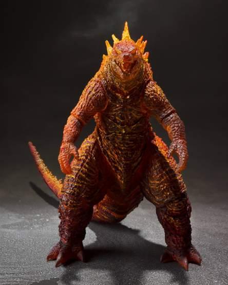 Burning Godzilla (Godzilla: King of the Monsters) S.H. MonsterArts-Actionfigur 16cm Bandai Tamashii Nations