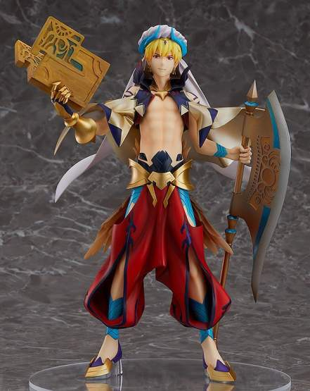 Caster/Gilgamesh (Fate/Grand Order) PVC-Statue 1/8 24cm Orange Rouge