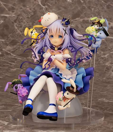 Chino & Rabbit Dolls (Is the Order a Rabbit) PVC-Statue 1/7 18cm Easy Eight