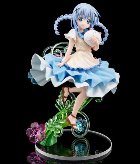 Chino Summer Dress Version (Is the Order a Rabbit?) PVC-Statue 1/7 21cm Hakoiri Musume