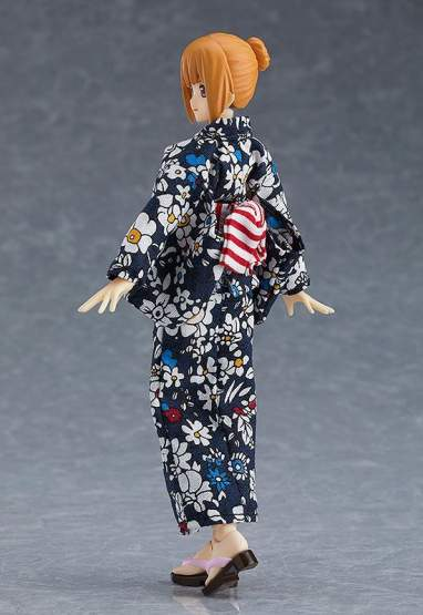Female Body Emily with Yukata Outfit (Original Character) Figma 473 Actionfigur 13cm Max Factory