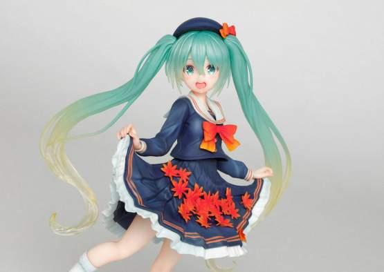 Hatsune Miku 3rd Season Autumn Version Game Prize (Vocaloid) PVC-Statue 18cm Taito Prize