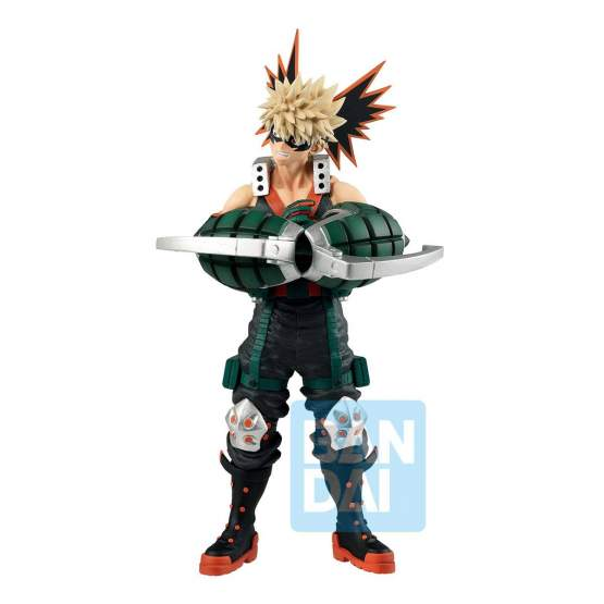 Katsuki Bakugo I'm Ready! (My Hero Academia) Ichibansho PVC-Statue 25cm Bandai