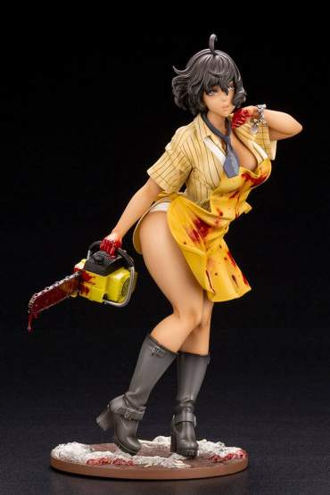 Leatherface Bishoujo (Texas Chainsaw Massacre) PVC-Statue 1/7 22cm Kotobukiya