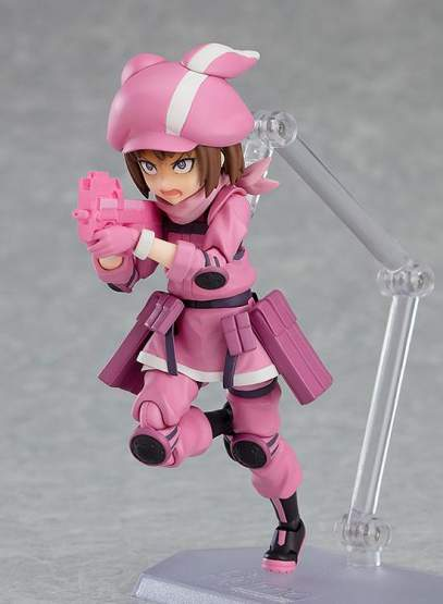 Llenn (Sword Art Online Alternative Gun Gale Online) Figma 459 Actionfigur 12cm Max Factory