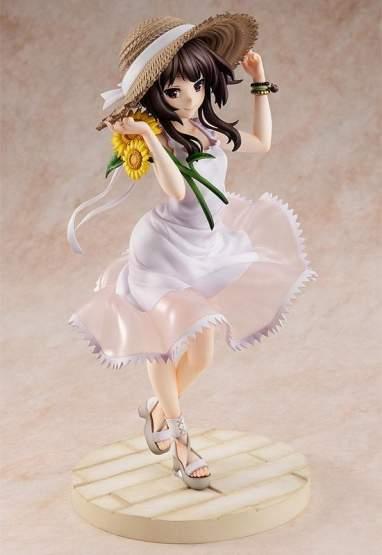 Megumin Sunflower One-Piece Dress Version (Kono Subarashii Sekai ni Shukufuku wo!) PVC-Statue 1/7 26cm Kadokawa