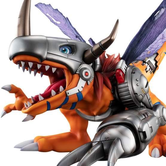 Metal Greymon (Digimon Adventure) Precious G.E.M. PVC-Statue 22 x 33cm Megahouse
