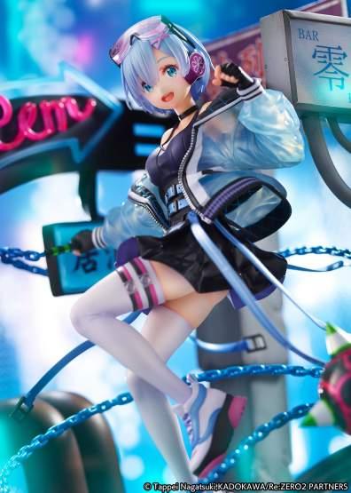 Rem Neon City Version (Re:Zero Starting Life in Another World) PVC-Statue 1/7 27cm eStream
