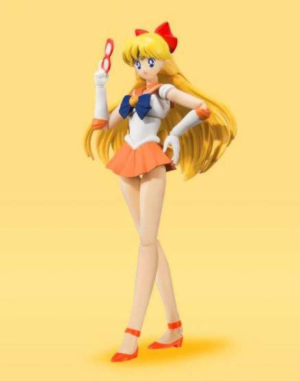 Sailor Venus Animation Color Edition (Sailor Moon) S.H. Figuarts-Actionfigur 14cm Bandai Tamashii Nations