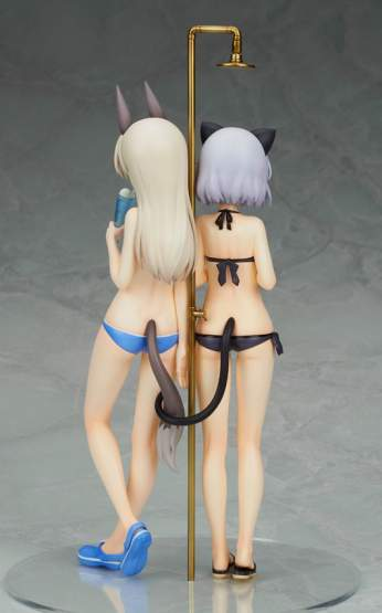 Sanya & Eila Swimsuit Version (Strike Witches 2) PVC-Statue 1/8 23cm Alter