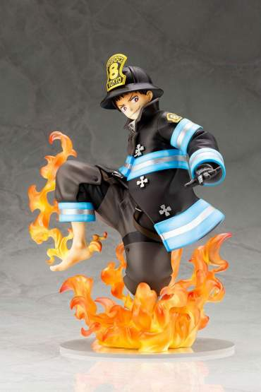 Shinra Kusakabe Glows in the Dark (Fire Force) ARTFXJ PVC-Statue 1/8 21cm Kotobukiya