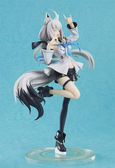 Shirakami Fubuki (Shirakami Fubuki) PVC-Statue 1/7 23cm Luminous Box