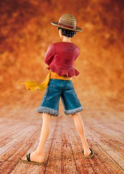 Strohhut Ruffy (One Piece) FiguartsZERO PVC-Statue 14cm Bandai Tamashii Nations