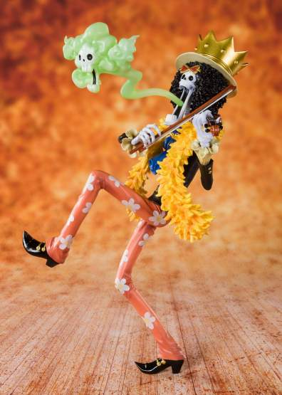 Summender Brook (One Piece) FiguartsZERO PVC-Statue 20cm Bandai Tamashii Nations