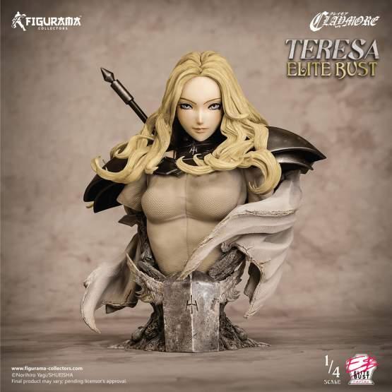 Teresa (Claymore) Polystone-Büste 23cm Figurama Collectors
