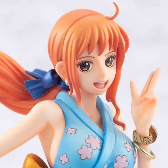 Warriors Alliance Nami (One Piece) Excellent Model P.O.P. PVC-Statue 22cm Megahouse