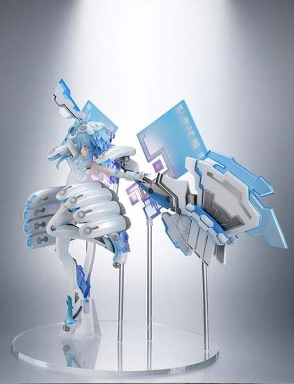 White Heart (Hyperdimension Neptunia) PVC-Statue 1/7 30cm Amakuni