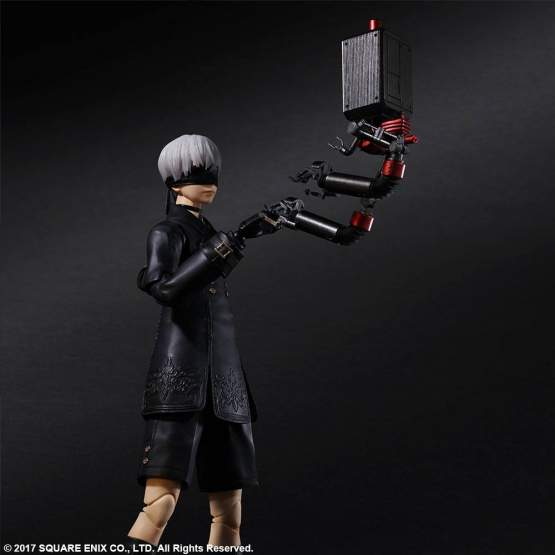 9S YoRHa No. 9 Type S Deluxe Version (NieR Automata) Play Arts Kai Actionfigur 24cm Square Enix