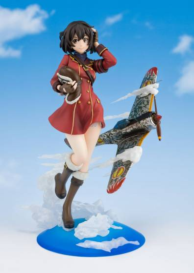 Kirie (The Kotobuki Squadron in The Wilderness) FiguartsZERO PVC-Statue 17cm Bandai Tamashii Nations
