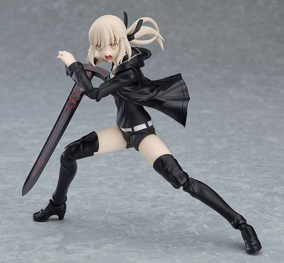 Saber/Altria Pendragon Alter Shinjuku Version (Fate/Grand Order) Figma 418 Actionfigur 14cm Max Factory