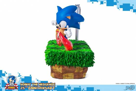 Sonic 25th Anniversary (Sonic the Hedgehog) Polystone-Statue 33cm First 4 Figures